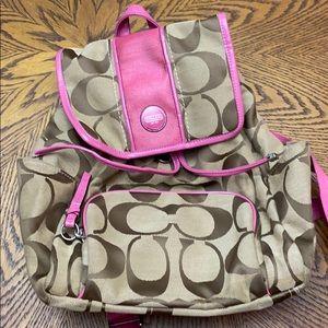Coach book bag purse